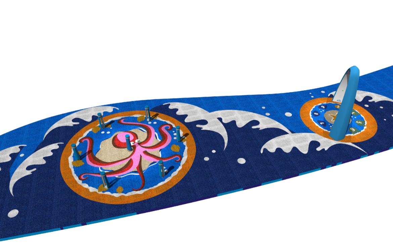 Skizze hergestellt von Yalp; Küsten-Thema; Memo - Spielsäulen und Sona - Spielbogen